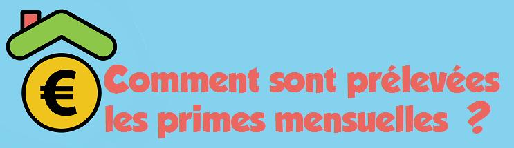 prelevements primes