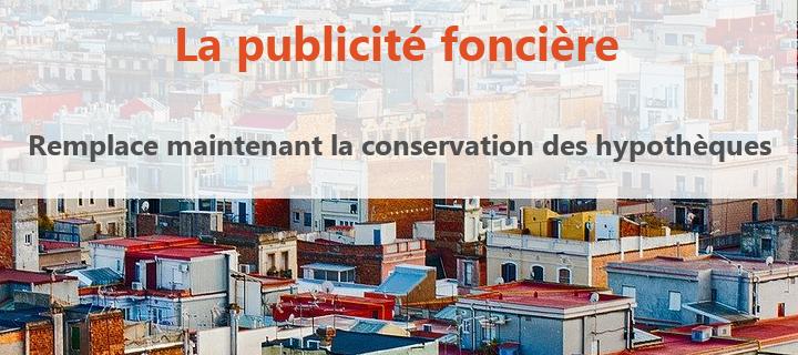 publicite fonciere